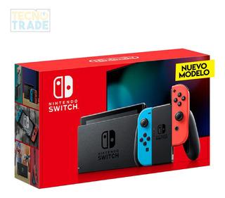 Nintendo Switch Nuevo Modelo Batería Mejorada