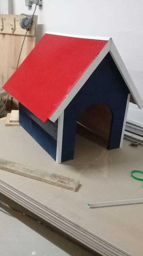 Imagem 1 de 2 de Casa Para Gato E Cachorro Sob Medida Opcional Pintura Verniz