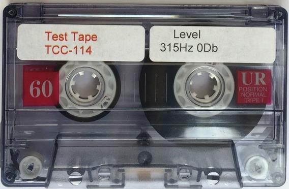Fitas De Alinhamento Tape Deck K7 3khz, 8khz, 315hz, 1khz