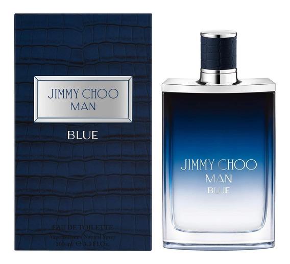 Jimmy Choo Man Blue 100ml Masculino + Amostra De Brinde