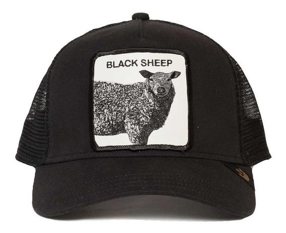 Gorras De Animales Black Sheep
