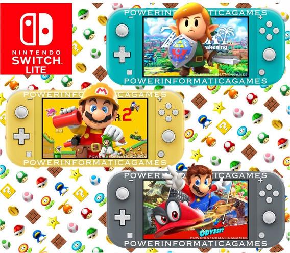 Nintendo Switch Lite 32gb Varias Cores Novo Pronta Entrega