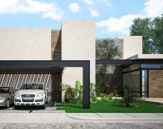 Casa En Preventa En Merida, Privada Tapiola, Komchen Mod C04