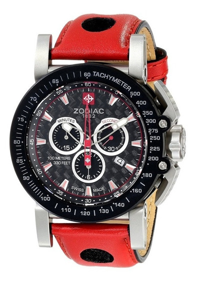 Relógio Zodiac Zmx Red Racer - Edição Limitada