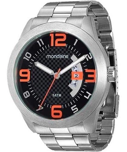 Relógio Masculino Analógico Mondaine 78517g0mvna2 Prata