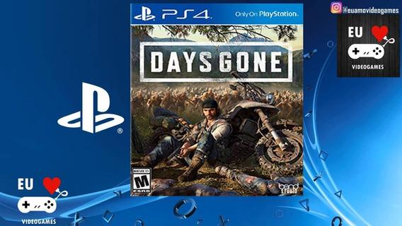 Days Gone - Aluguel De 10 Dias - Ps4 - Playstation 4