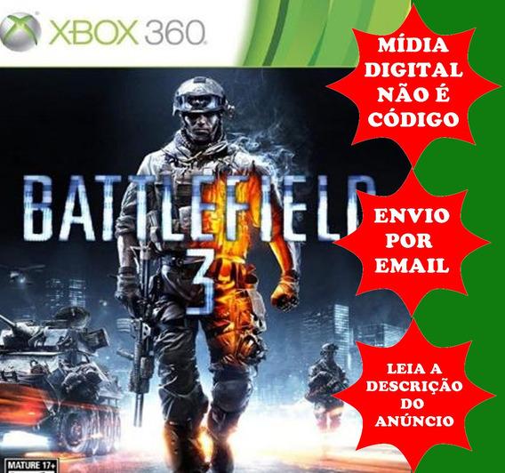 Battlefield 3 Original Xbox 360 Midia Digital