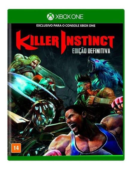 Jogo Killer Instinct Edição Definitiva Xbox One Mídia Física
