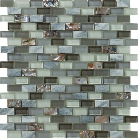 Malla Decorativa Muro Mod Novel Grey (30x30) Importación