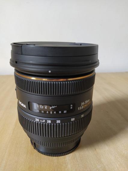 Lente Sigma 2470 2.8 Dg Hsm Sony Alpha A-mout