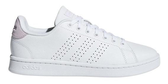 Zapatillas adidas Advantage Blanca/rosa - Corner Deportes