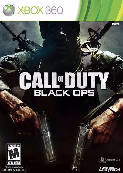 Cod.call Of Duty Bo1 Original Para Xbox 360 Em Mídia Digital