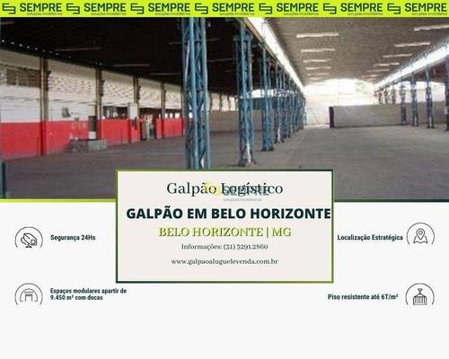 Imagem 1 de 15 de Galpão À Venda, 9450 M² Por R$ 35.000.000,00 - Glalijá - Belo Horizonte/mg - Ga0015