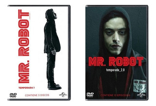 Mr Robot Paquete Temporadas 1 Uno Y 2 Dos Serie Dvd