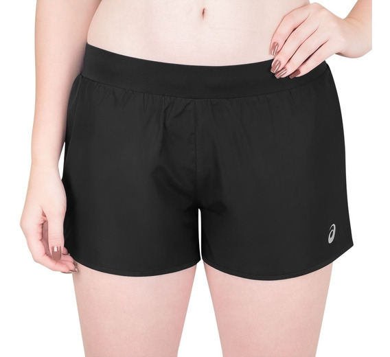 Shorts Asics Core Running 2in1 3in Preto