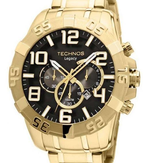 Relógio Technos Masculino Legacy Dourado - Os20im/4p
