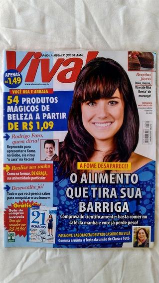 Revista Viva! Edição 562 2010 Fernanda Vasconcellos