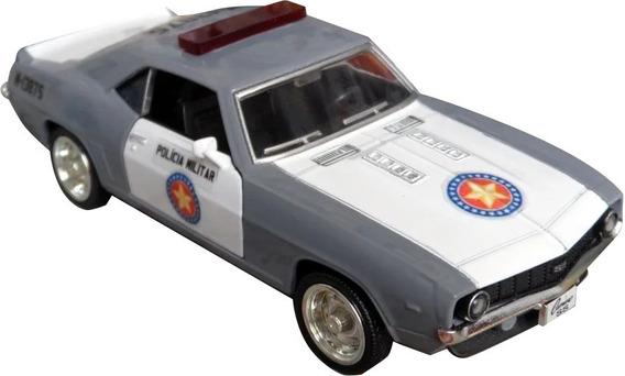 Miniatura Viatura Polícia Militar Pm Sp Camaro - Anos 80