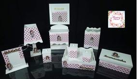 Kit Higiene Bebê 10 Pçs + Brinde( 3 Nomes) Vários Modelos