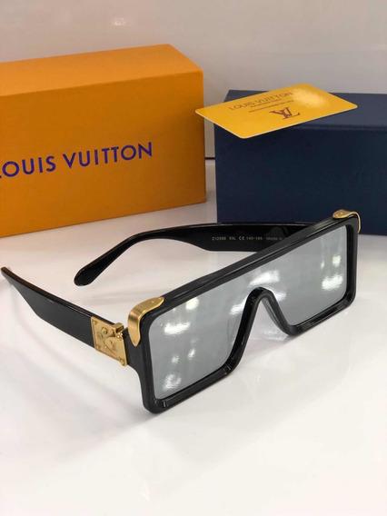 Óculos De Sol Millionaires Máscara Lv Lentes Espelhadas