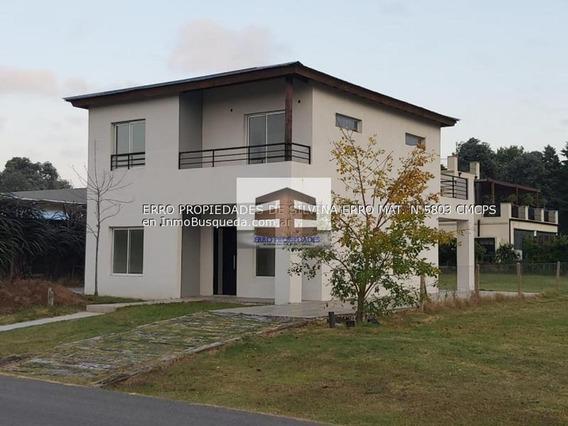 Excelente Casa De 5 Ambientes En Alquiler En El Aljibe