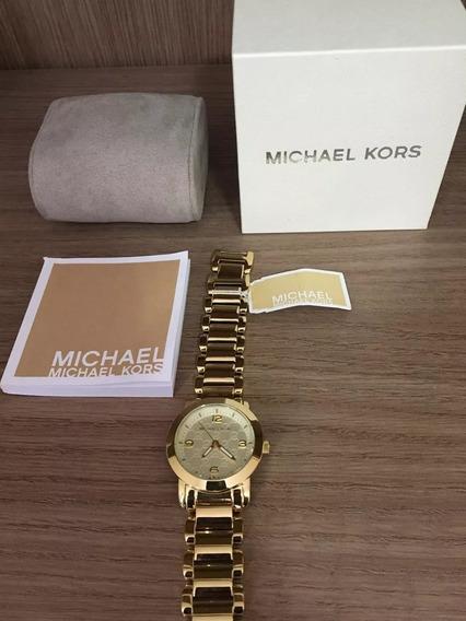 Relógio Michael Kors Original Mk3158 Completo