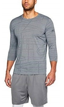 Playera Under Armour Threadborne ¾ Utility Hombre Xxl 2xl