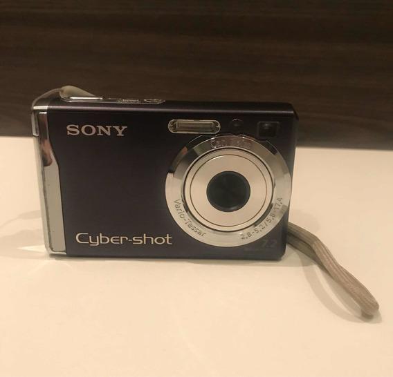 Câmera Sony Cyber Shot Dsc-w70 7,2