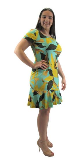 Vestido Feminino Peplum Barato Moda Evangélica Midi Promoção