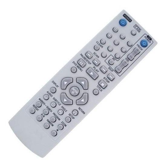 Controle Remoto Dvd Lg / Dv256k / Dv276k / Dv288 / Etc