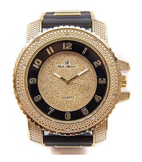 Bling-ed Out - Reloj De Pulsera Para Hombre, Diseño De Hip H