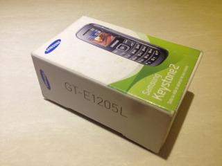 Caja Samsung Keystone2 Gt-e1205l