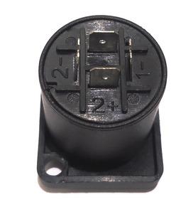 Kit 50 Conector Speakon Plug Fêmea Painel 4 Speakon Macho