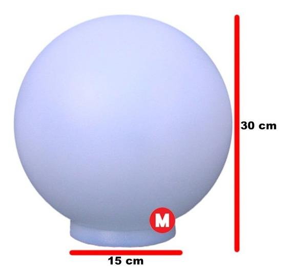Globo De Plástico Polietileno Esférico 15x30