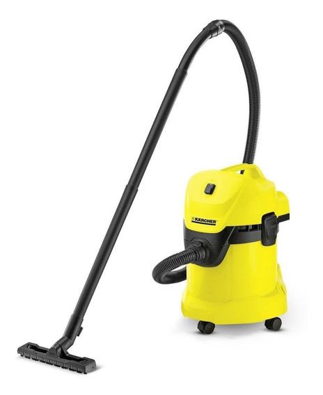 Aspiradora Kärcher WD 3 17L amarilla y negra 220V