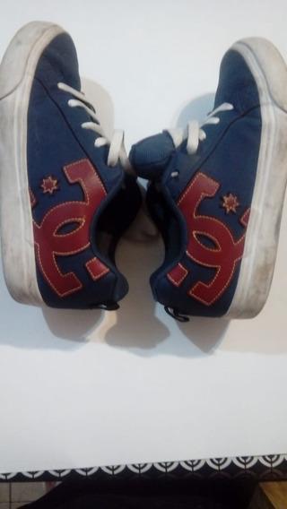 Zapatillas Dc - Talle 6 Usa - Niños