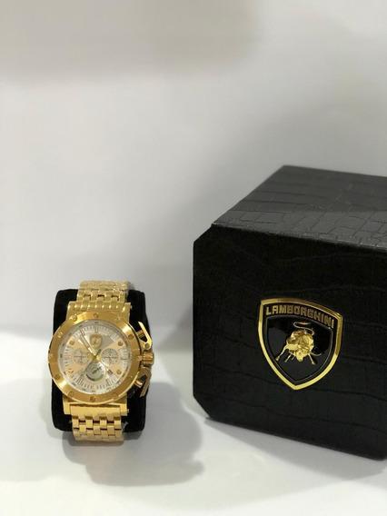 Relógio Lamborghini Quartz(modelo Lb90029675m)