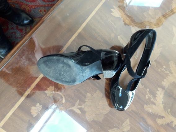 Zapatos Clark 37 1/2 De Mujer, Casi Nuevos