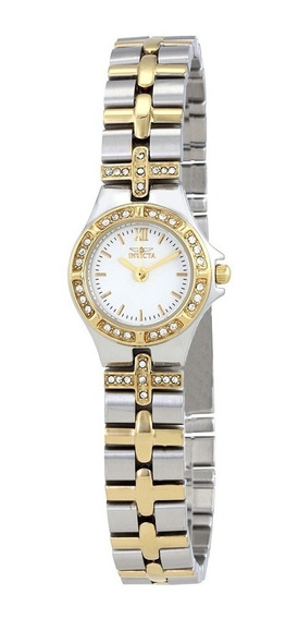 Relógio Invicta Wildflower White Dial Feminino Original