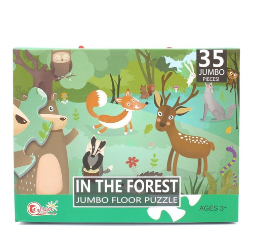 Mega Puzzle 35 Pcs - In The Forest