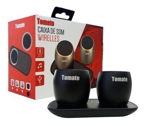 Caixa Som Mini Wireless Bluetooth Portatil Tomate Mts-8889
