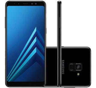 Samsung Galaxy A8+ A730f 64gb 4gb Ram Preto Vitrine 2