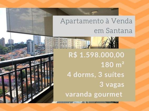 Apartamento À Venda No Bairro Santana Em São Paulo/sp - 138