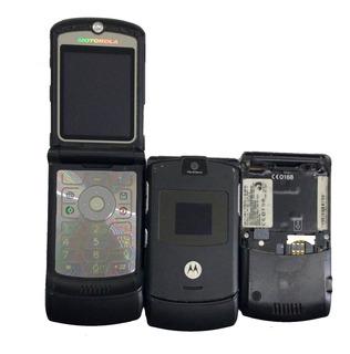 Lote Celular Motorola V3 05 Un. No Estado