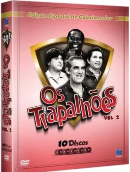 Box Original: Os Trapalhões - Volume 2 Em Digitask - 10 Dvds
