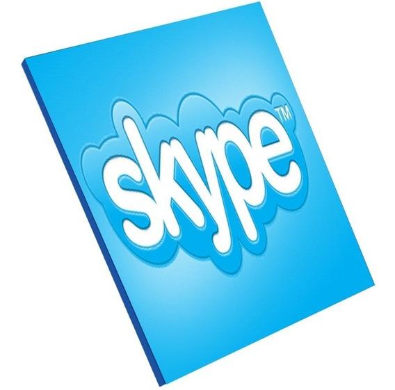 Cartão Skype R$27 Reais Ligue Para Qualquer Lugar Do Mundo