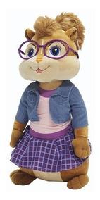 Pelúcia Alvin E Os Esquilos Jeanette - Bbr Toys Antialérgico