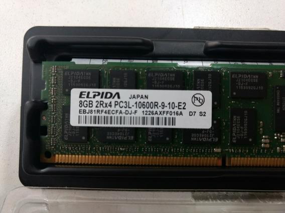 Memoria Ram Servidor 8gb 2rx4 Pc3l 10600r Ddr3