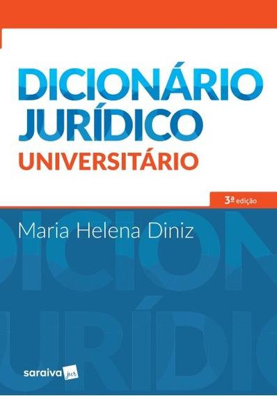 Dicionário Jurídico Universitário - 3ª Edição