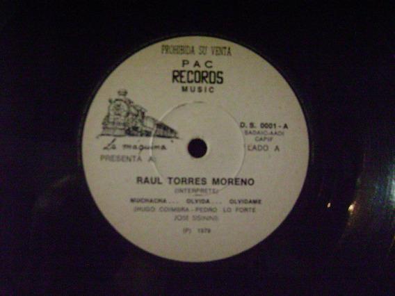 Raul Torres Moreno-muchacha Olvida..olvidame-vinilo Simple-